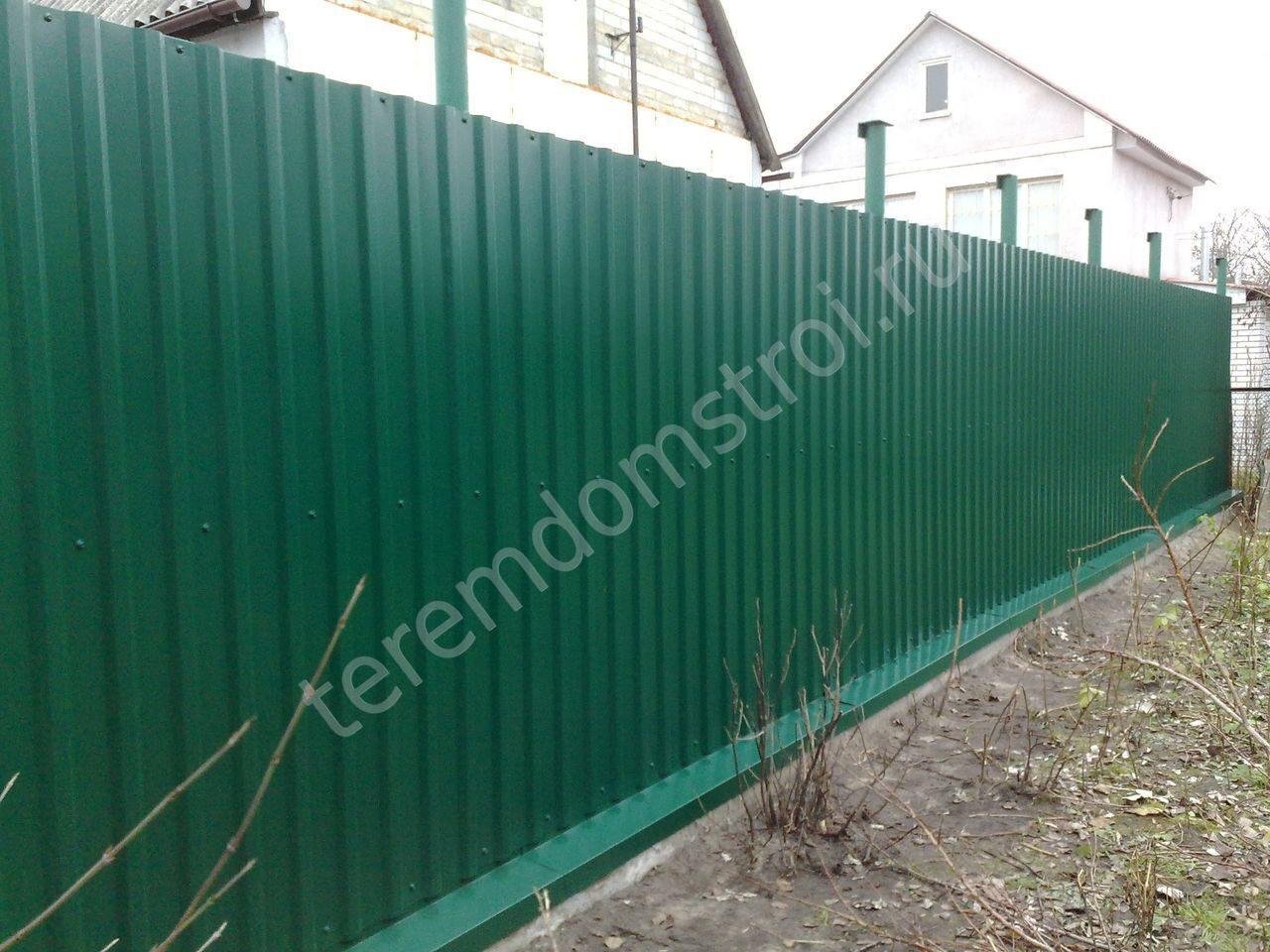 Фото как сделать забор своими руками