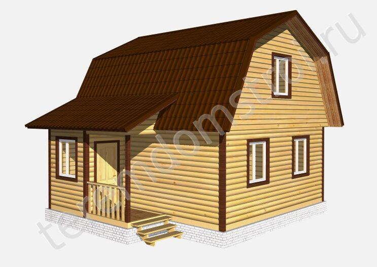 что вас дом из бруса под ключ с санузлом москва белье отводит